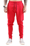 WNDRR Hoxton V2 Tech Trackpant Red Front