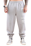 WNDRR Traction Trackpant Grey Marle Front