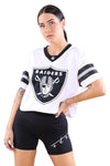 Majestic Womens Raiders NFL Replica Jersey White