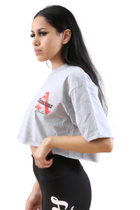 AFKNCHUR A Lifestyle Crop Grey