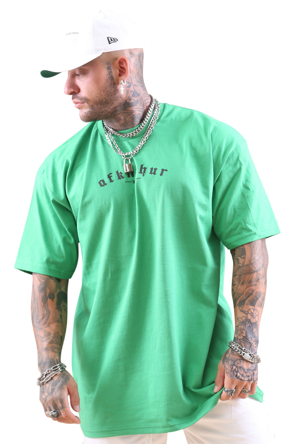 AFKNCHUR Lifestyle Tee Kelly Green Angle