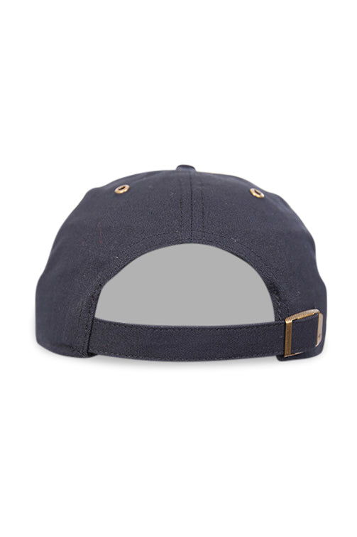 47 Brand NY Townhouse Canvas Clean Up Black Strapback Back