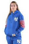 Majestic NY Womens Madi Cozy Hood Blue
