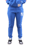 Majestic NY Womens Madi Cozy Tracks Blue
