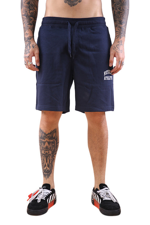 Russell Athletic Arch Logo Short Navy Front