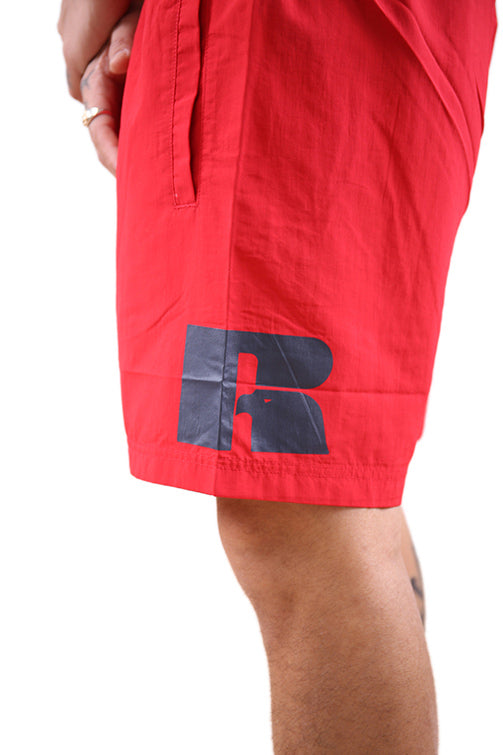 Russell Athletic Eagle R Swim Short Flame Detail