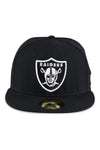 New Era 5950 LV Raiders Black White