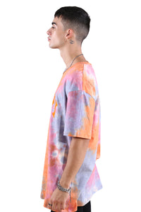 Ilabb Fieldye Tee Orange Tie Dye
