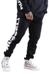 Russell Athletic Print Panel Trackpant Black
