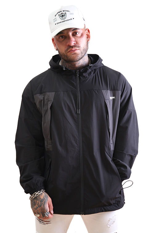 Thing Thing Bank Jacket Black Front