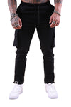Thing Thing Vice Cargo Pant Black Front