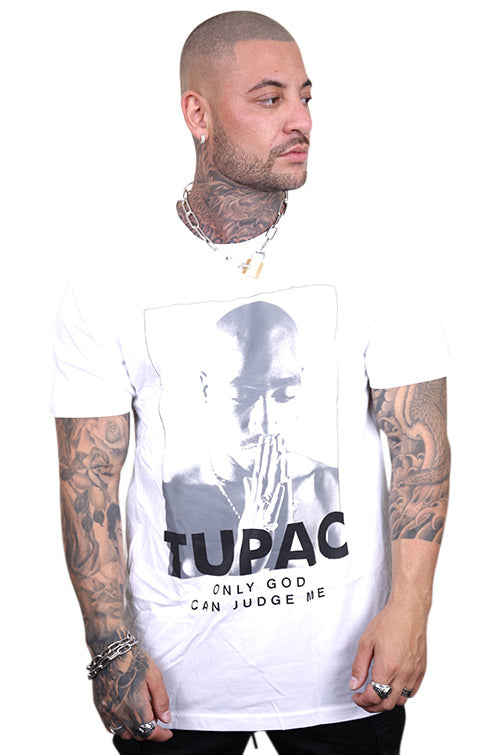 Urban Classics 2Pac Prayer Tee White
