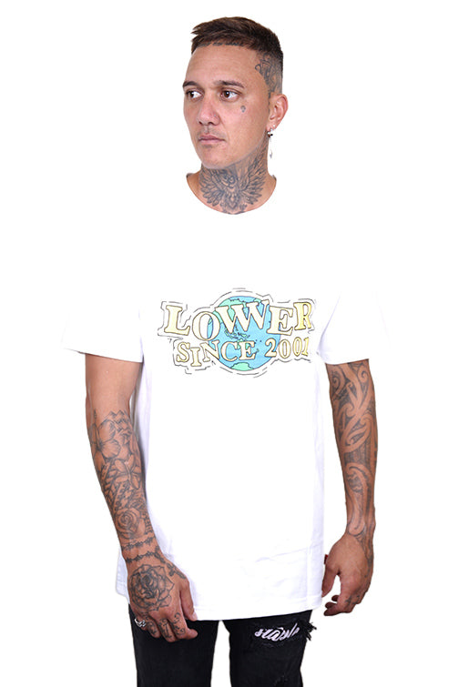 Lower WWW QRS Tee White Front