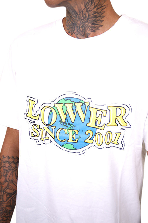 Lower WWW QRS Tee White Detail