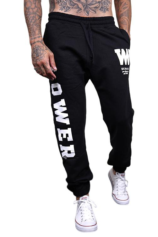 Lower Berkley Heavyweight Tracksuit Pants Black
