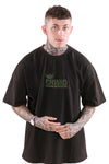 CRWND Dominant Oversized Tee Washed Black/Olive