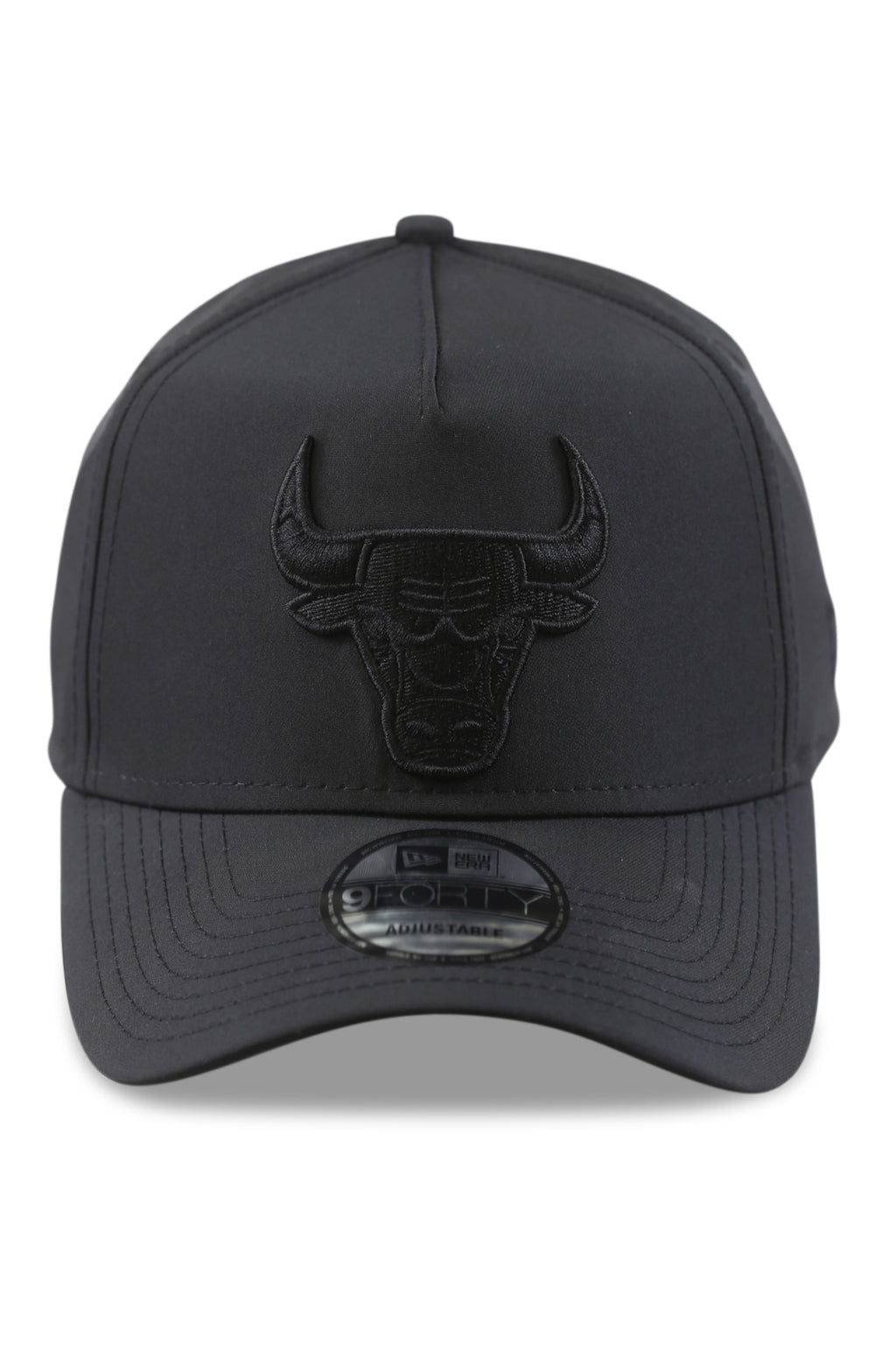 New Era 940 A Frame Bulls Urban Tech Black Snapback Front