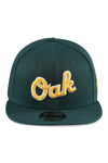 New Era 950 Athletics MLB Ligature Green Snapback