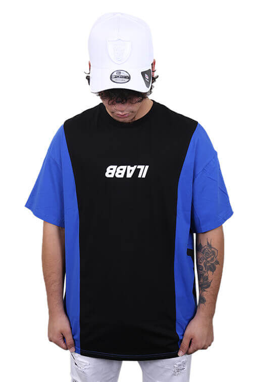 Ilabb Rely Tee Black/Blue Front