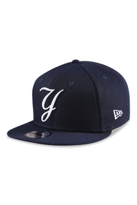 New Era 950 NY MLB Ligature Blue Snapback