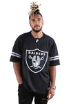 Majestic Raiders NFL Replica Jersey Black