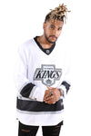 Majestic Kings NHL Replica Jersey White