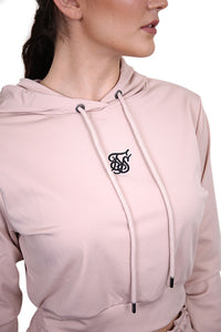 SikSilk Zonal Track Top Beige Detail