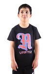 AFKNCHUR A Lifestyle Kids Tee Black