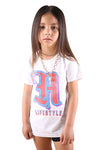 AFKNCHUR Lifestyle Kids Tee White