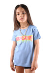 AFKNCHUR Candy Kids Tee Carolina Blue
