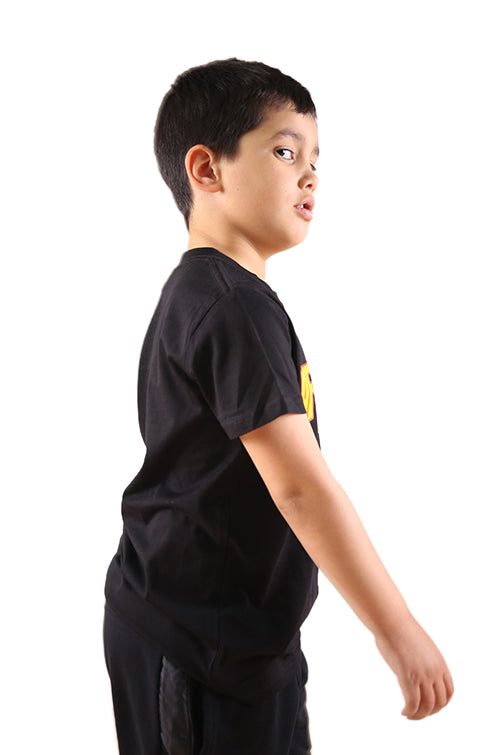 AFKNCHUR Thrasher Kids Tee Black