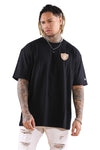 New Era Raiders Sea Oversize Tee Black