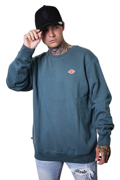 Dickies Crew Neck Sweater H.S Rockwood Lincoln Green