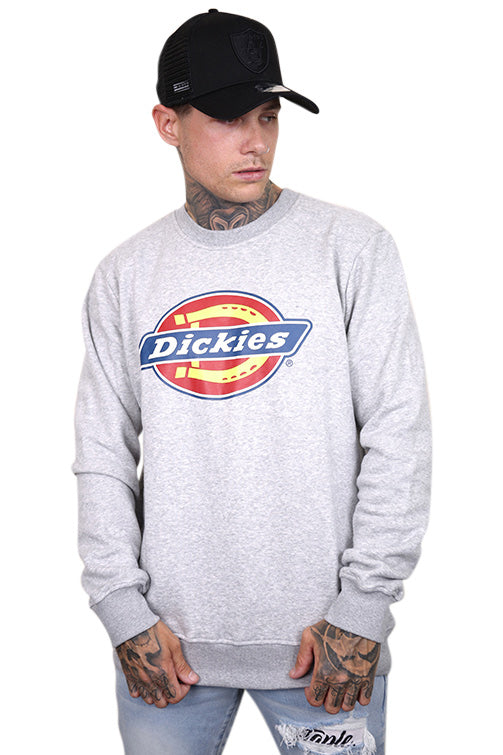 Dickies Crew Neck Sweater H.S Classic Grey Marle