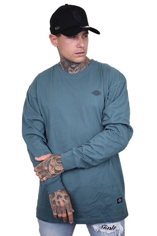 Dickies Classic Fit L/S Tee H.S Mason Lincoln Green