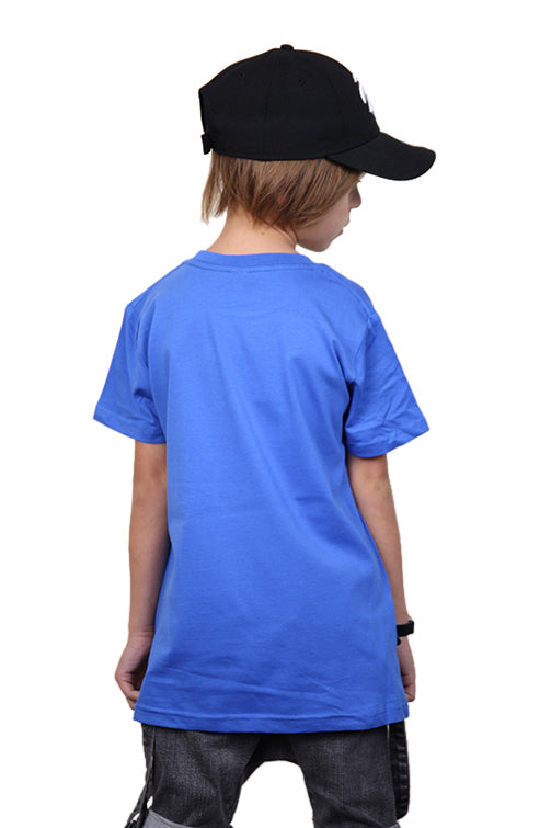 AFKNCHUR Kids Weeknite Tee Blue Back