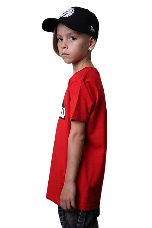 AFKNCHUR Kids Weeknite Tee Red Angle