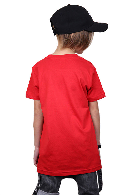 AFKNCHUR Kids Weeknite Tee Red Back