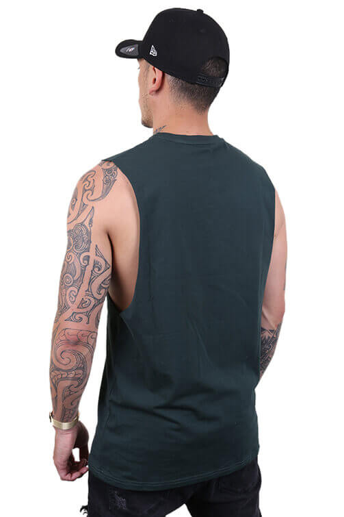 Ilabb Capsize Tank Forest Green Back