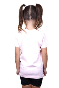 AFKNCHUR Kids Weeknite Tee Pink Back
