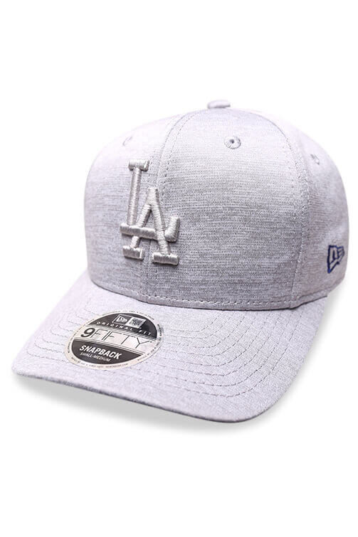 New Era 950 LA Grey Shadow Snapback Angle