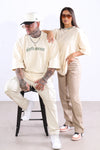 Sixth Avenue R Heated Tee Tan