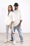Sixth Avenue M.A.W Tee White