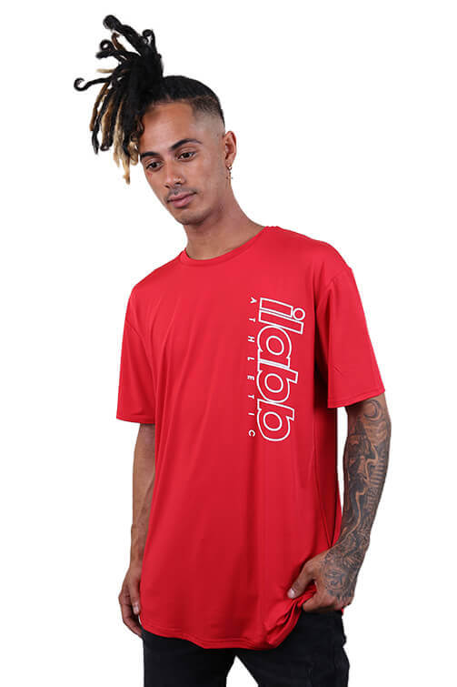 Ilabb Nimble Tee Red Front