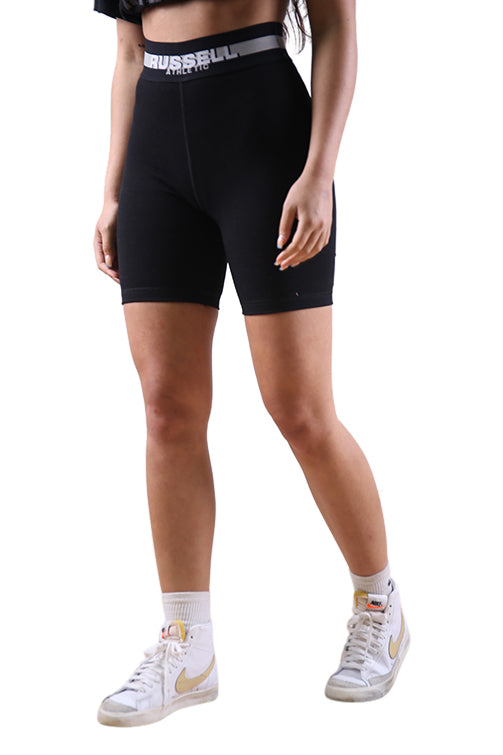 Russell Athletic Womens Classic Bike Short Black