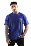 Stussy World Tour S/S Tee Dark Navy