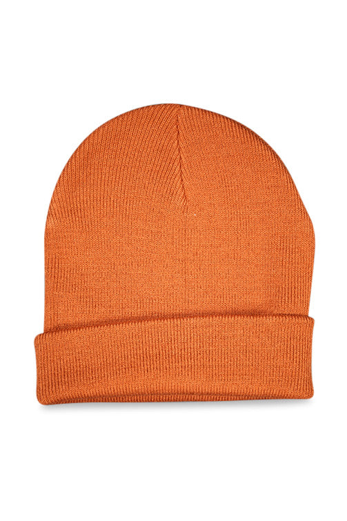 AFKNCHUR AFKNBLESSED Cuff Folded Beanie Copper Back'