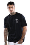 Stussy World Tour S/S Tee Black