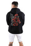 Staple Hollow Rose Hoody Black