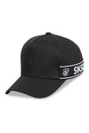 SikSilk Stretch Fit Full Trucker Black Snapback Angle